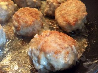 Котлеты с сыром из рубленного мяса
