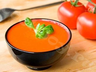 Томатный суп с апельсином