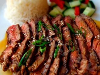 Говяжий стейк в соусе «Терияки»
