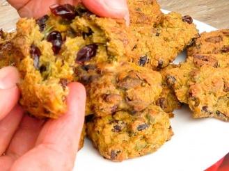 Овсяно-тыквенное печенье