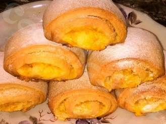 Мягкое апельсиновое печенье