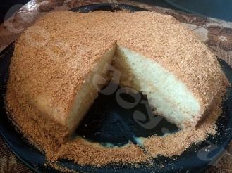 Торт из классического бисквита