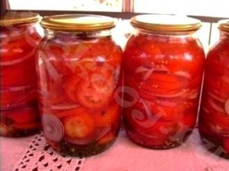 Салат из помидоров в зиму «По-царски»