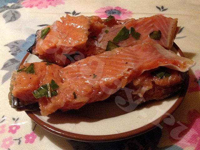 Красная рыба, сухого посола