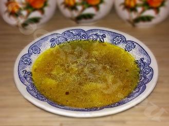 Суп с фрикадельками из свинины