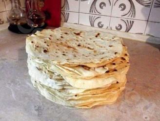 Лаваш на сковороде