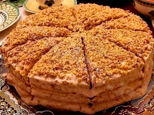 Сметанник – торт на скорую руку