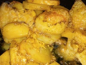 Запечённая картошка с сыром