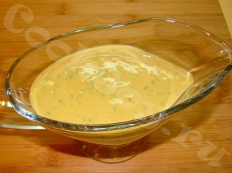 Сметано-горчичный соус