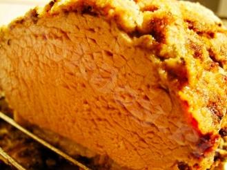 Мясо под хлебной корочкой
