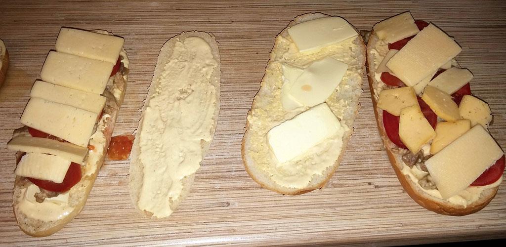 Как сделать горячий бутерброд если нет микроволновки