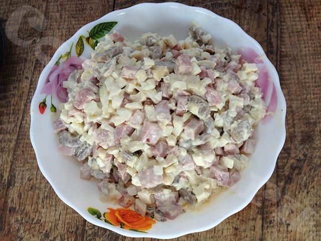 Дубок салат рецепт с