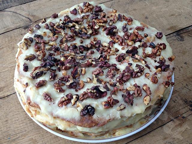 Классический торт «Наполеон»