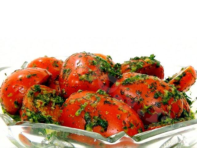 Быстрый рецепт засолки зеленых помидор