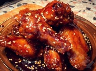 Куриные крылышки в соусе «Териаки»