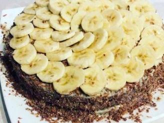 Торт банановый на сгущённом молоке