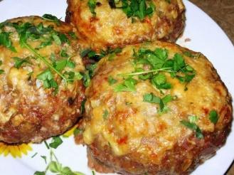 Колобки из мяса и овощей