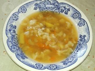 Овощной суп с цветной и белокочанной капустой