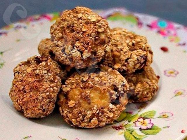 Печенье из овсянки