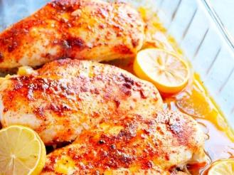 Медово-лимонная куриная грудка