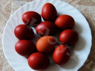 Классические пасхальные яйца